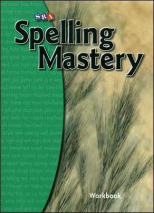 SRA Spelling Mastery Level B  - Student Workbook