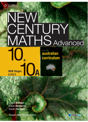 New Century Maths: 10 Stages 5.2/5.3  - Text + NelsonNet [4 Access Codes]
