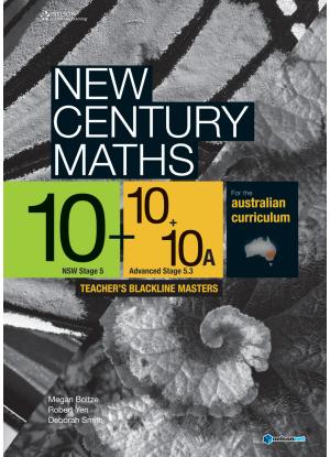 New Century Maths: 10 Stages 5.2/5.3 [Teachers Blackline Masters]