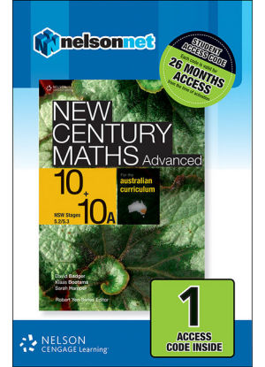 New Century Maths: 10 Stages 5.2/5.3 [NelsonNet Only]