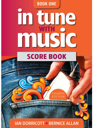 In Tune with Music:  1 - Score Book