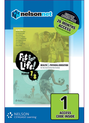 Nelson Fit for Life!  Year 7 & 8 - NelsonNet Only [1 Year Access]