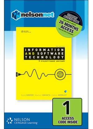 Information and Software Technology:  A Project Based Approach - NelsonNet Only [1 Access Code Card)