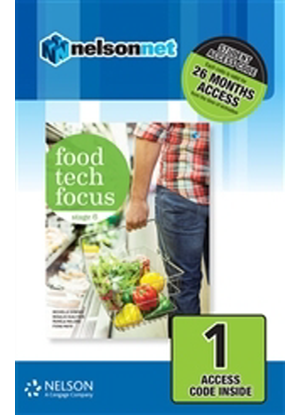 Food Tech Focus:  Stage 6 - NelsonNet Only [1 Access Code]