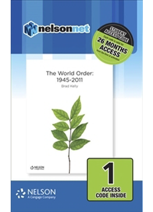 Nelson Modern History: The World Order:  1945 - 2011 [NelsonNet Only]