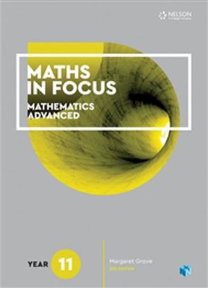 Maths in Focus: Mathematics Advanced - Year 11 [Text + NelsonNet]