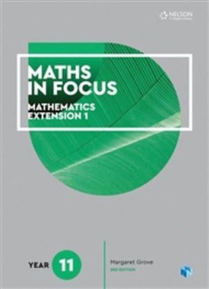Maths in Focus:   Mathematics Extension 1 - Year 11 [Text  + NelsonNet]