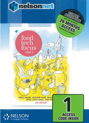 Food Tech Focus:  Stage 5 - NelsonNet Digital Only [1 Access Code]