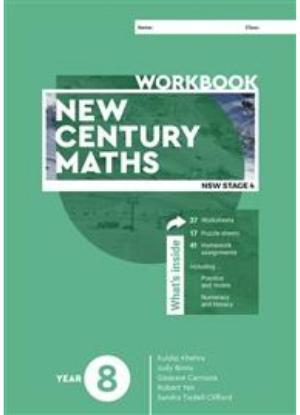New Century Maths:  8  [Workbook]