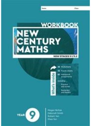 New Century Maths:  9 Stages 5.1/5.2  [Workbook]