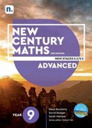 New Century Maths:  9 Advanced Stages 5.2/5.3  [Text + NelsonNet]