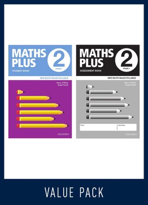 Maths Plus NSW:  2 - Student and Assessment Book Value Pack