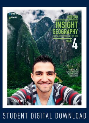 NSW Oxford Insight Geography:  Stage 4 [oBook/assess Only]