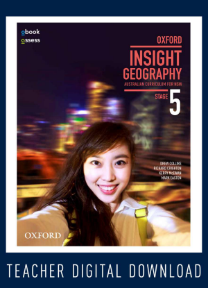 NSW Oxford Insight Geography:  Stage 5 [Teacher oBook/assess Only]