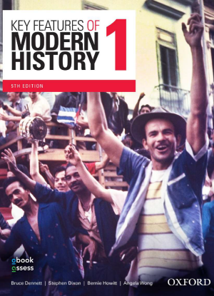 Key Features of Modern History:  1 - Year 11 [Student Book + obook assess]