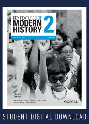 Key Features of Modern History:  2 - Year 12 Student obook assess Multi