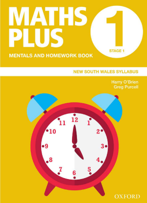 Maths Plus NSW:  1 - Mentals and Homework Book