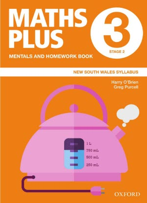 Maths Plus NSW:  3 - Mentals and Homework Book
