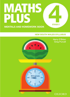 Maths Plus NSW:  4 - Mentals and Homework Book
