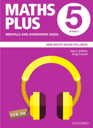 Maths Plus NSW:  5 - Mentals and Homework Book