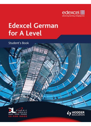 Edexcel German for a Level:  Student Book + CD-Rom