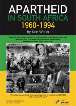 Apartheid in South Africa: 1960-1994