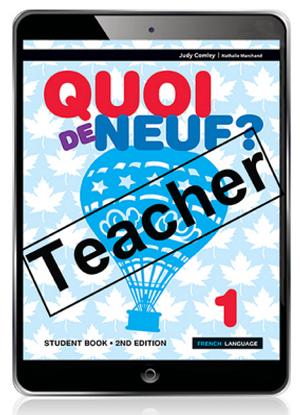 Quoi de Neuf?  1 [Teacher eBook + Audio Download]