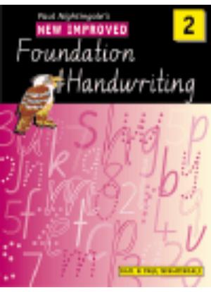 New Improved Foundation Handwriting:  2