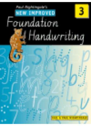 New Improved Foundation Handwriting:  3