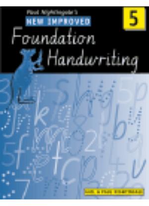 New Improved Foundation Handwriting:  5