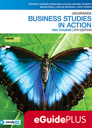 Business Studies in Action:  HSC Course [Teacher eGuidePlus]