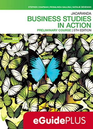 Business Studies in Action:  Preliminary Course [Teacher eGuidePlus]