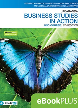 Business Studies in Action:  HSC Course [eBookPlus + free StudyON Only]