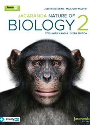 Nature of Biology:  2 -  VCE Units 3 & 4 [LearnON + Free StudyON]
