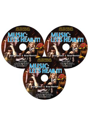 Music:  Let's Hear It! - CD Pack