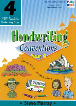 NSW Handwriting Conventions:  Year 4