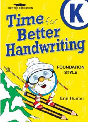 Time for Better Handwriting:  Kindergarten