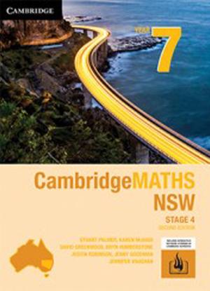 CambridgeMaths NSW:  7 [Text + Interactive CambridgeGO]