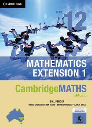CambridgeMaths Mathematics Extension 1:  12 [Text + Interactive CambridgeGO]