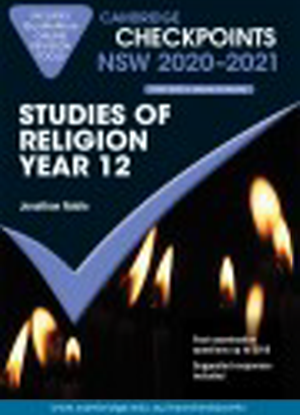 Cambridge Checkpoints:  NSW Studies of Religion I & II - Year 12 (2020-2021)