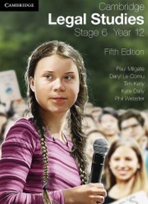 Cambridge Legal Studies:  Year 12 [Text + Interactive CambridgeGO]