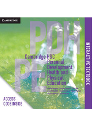Cambridge HSC Personal Development, Health and Physical Education:   CambridgeGO Only [Registration Card]