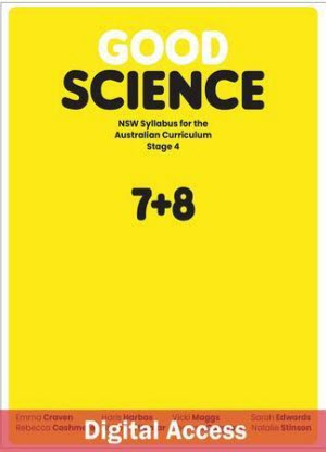 NSW Good Science: Stage 4 - Teacher Access [Digital Only]