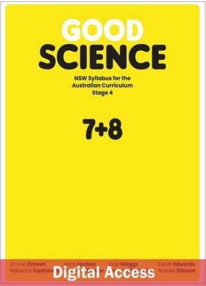 NSW Good Science: Stage 4 - Student Access [Digital Only]