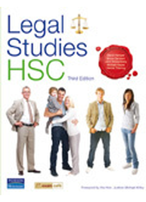 Legal Studies:  HSC [Student Book + Exam Cafe CD]