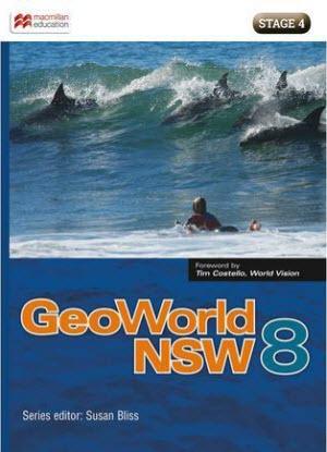 NSW GeoWorld:  8 [Student Book + Digital]