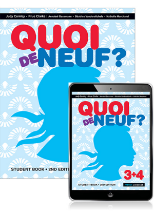 Quoi de Neuf?  3 + 4 [Student Book + eBook]