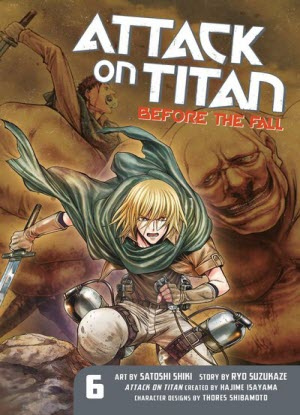 Attack on Titan before the Fall:  6