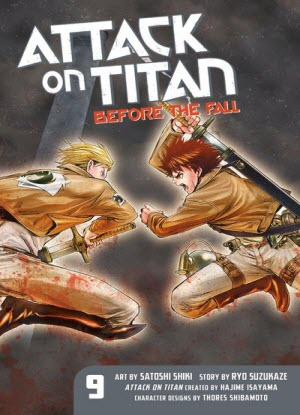 Attack on Titan before the Fall:  9