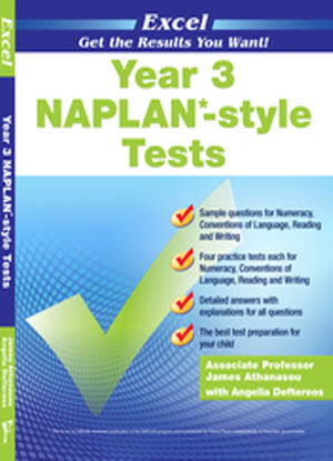 Excel Naplan*-Style Tests:  Year 3
